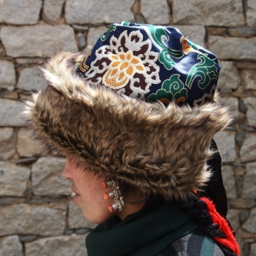 Silk Khampa Hat