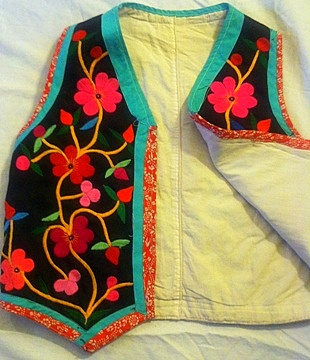 Jinchang Embroidered Vest (Child's)